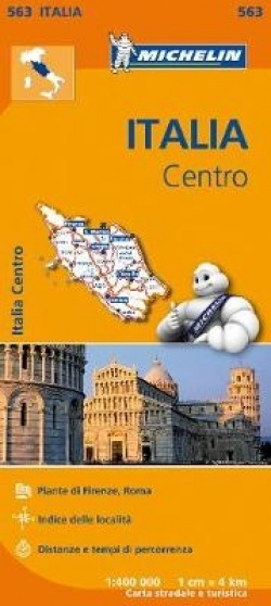 Italy Centre - Michelin Regional Map 563 - Map