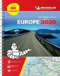 Europe 2020 - Tourist and Motoring Atlas (A4-Spiral) - Tourist & Motoring Atlas A4 spiral